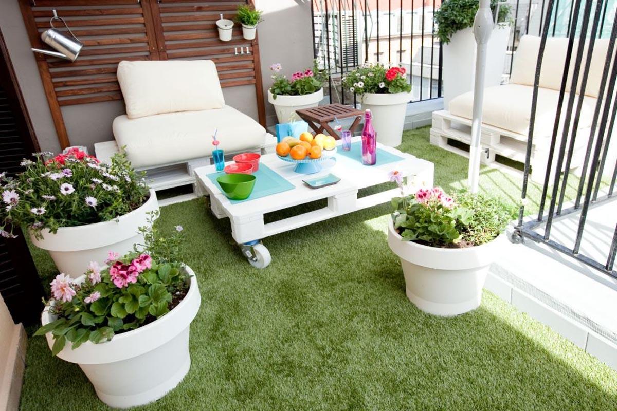 C sped artificial en tu terraza es la nueva tendencia for Cesped artificial terraza